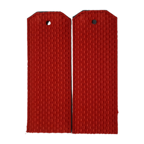 Погоны парадные красные (пог. лента,картон)