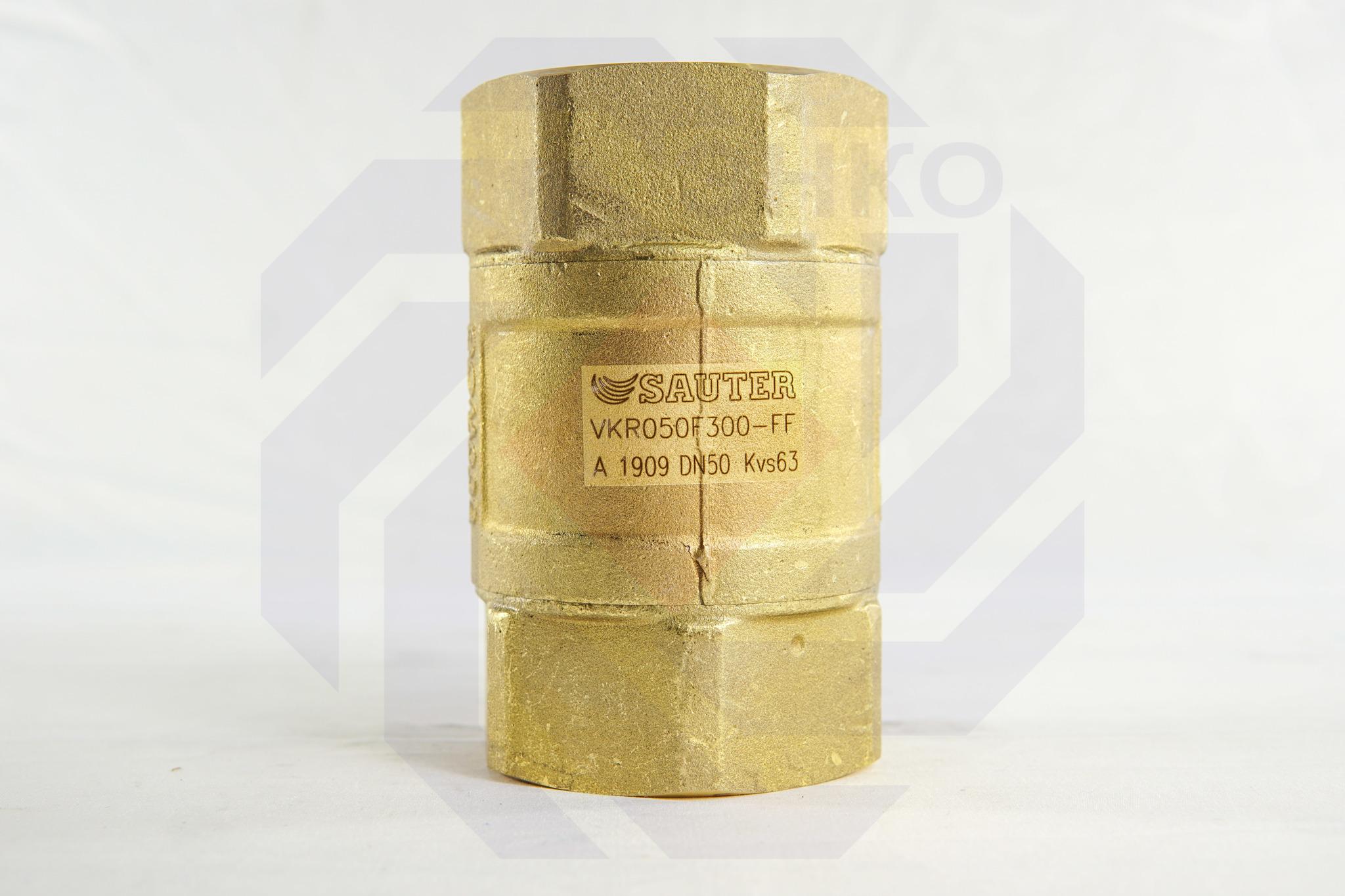 Клапан шаровой регулирующий SAUTER VKR300 DN 50