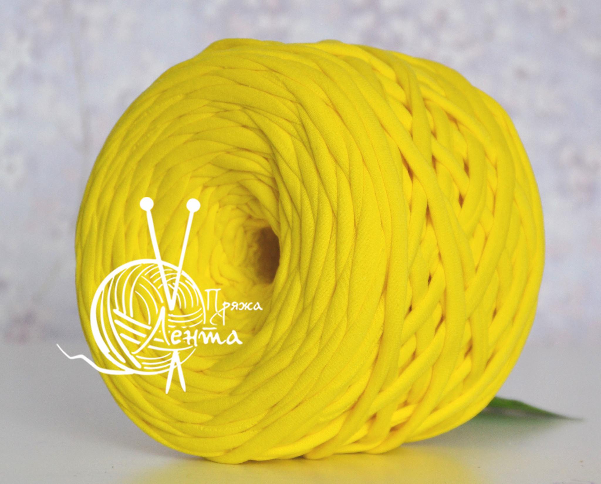 Товары на главной Пряжа Лента Желтый Желтый.jpg