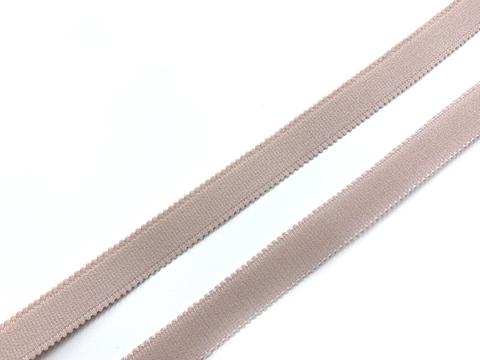 Резинка бретелечная серебристый пион 15 мм (цв. 168)