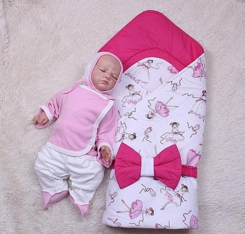Летний комплект Vallery(балерины) Малыш (розовый)