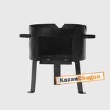 Печь под казан 60 литров сталь 2 мм
