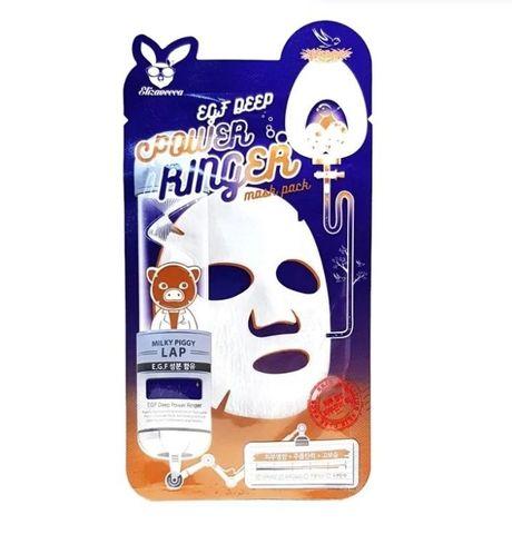 [Elizavecca] Ткан. маска д/лица с Эпидермальным фактор EGF DEEP POWER Ringer mask