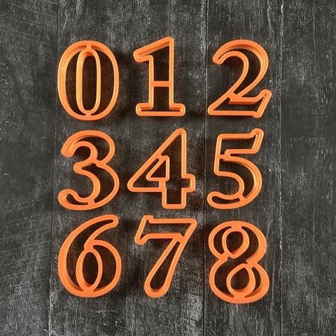 Цифры №12 Для мастики