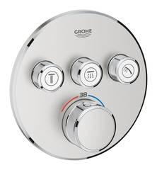 Термостат для душа встраиваемый на 3 потребителя Grohe Grohtherm SmartControl 29121DC0 фото