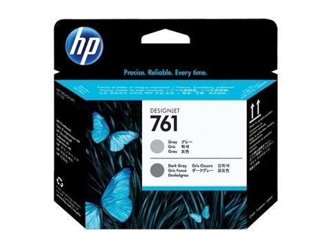 Оригинальная печатающая головка HP CH647A 761 серый/темно-серый