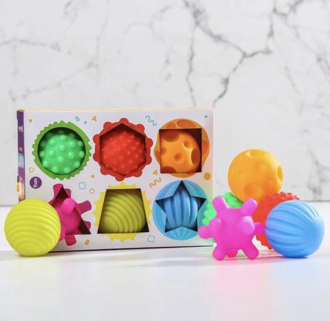 Подарочный набор тактильных мячиков