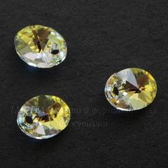 6028 Подвеска Сваровски Овал Crystal AB (8 мм)