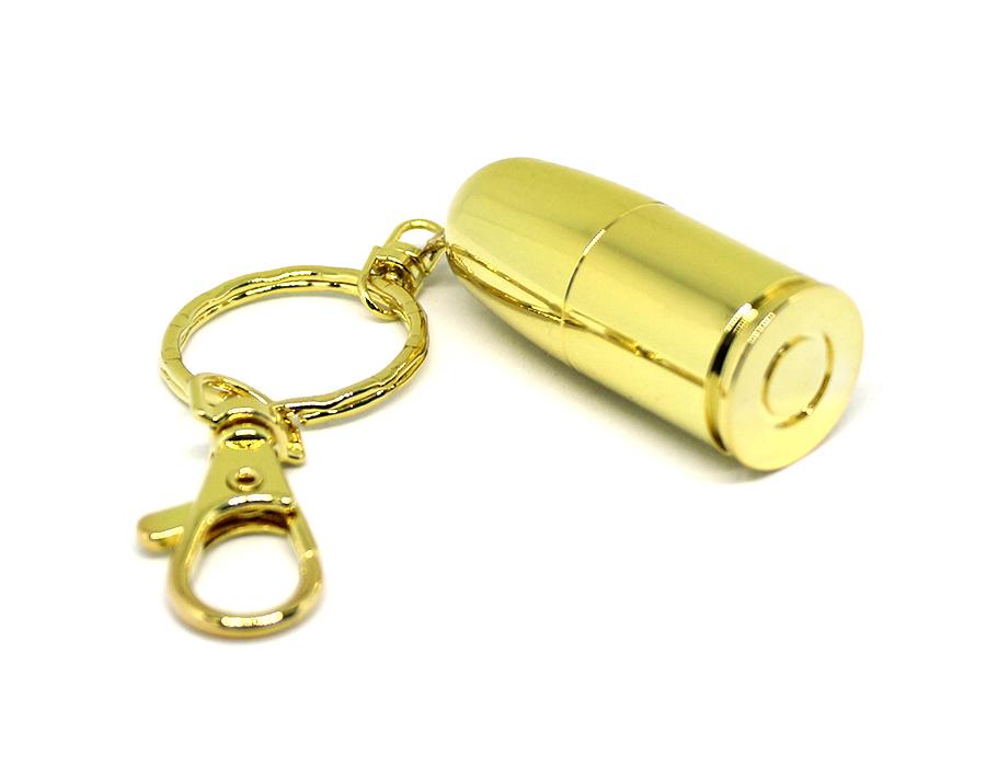 usb-флешка в виде пули золото