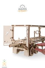 Полуприцеп для Тягача Heavy Boy VM-03 от Ugears - Деревянный конструктор, сборная модель, 3D пазл
