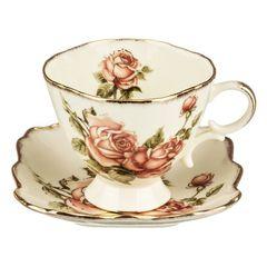 Чайный набор из фарфор на 6 персон