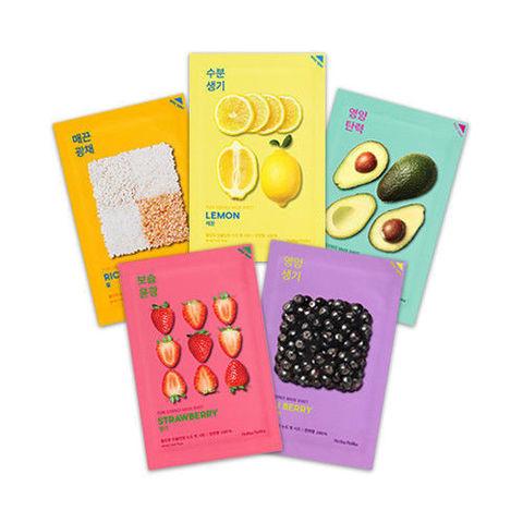Holika Holika Pure Essence Mask Sheet тканевые маски на основе природных экстрактов