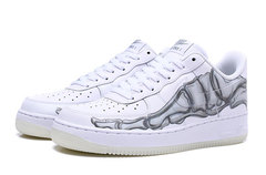 Nike Air Force 1 Low Skeleton Qs 'Halloween'