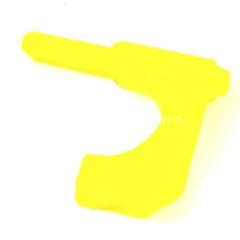 Флажок безопасности для пистолета Shooter-Man желтый
