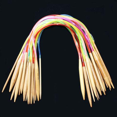 Спицы бамубковые круговые длина 40см