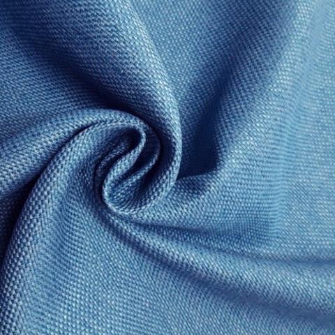Блэкаут рогожка голубая оптом. BLR-11SH