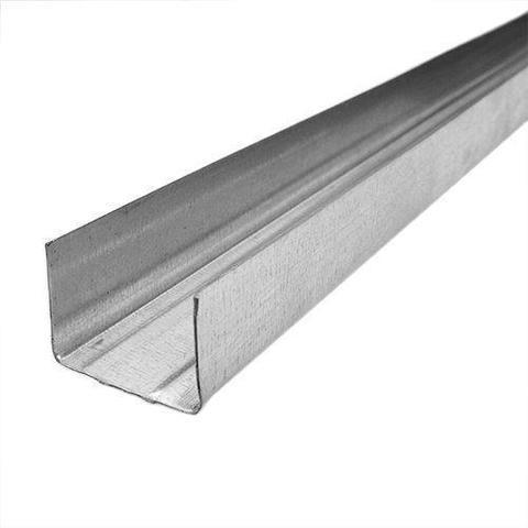 Потолочный профиль направляющий 28х27х3000 мм 0,5 мм