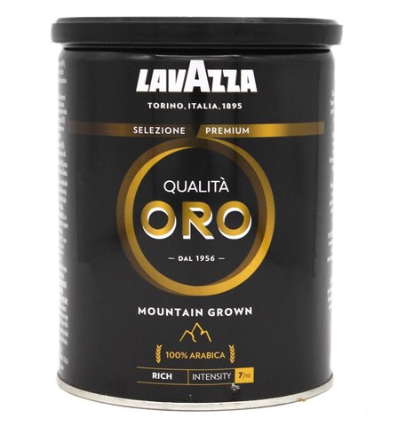 Кофе молотый Qualita Oro Mountain Grown, Lavazza, 250 г