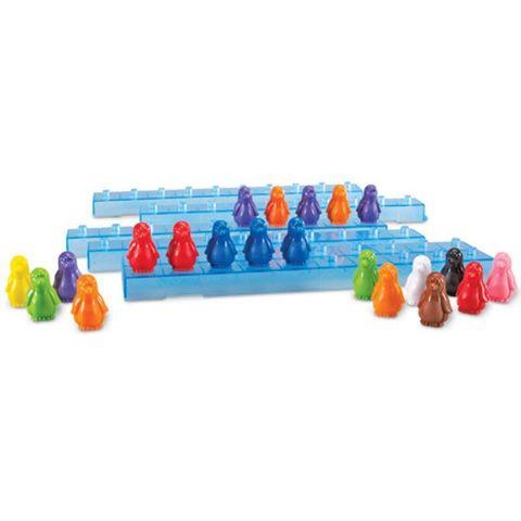 пингвины на льдине ( 10 штук + 1 льдина)