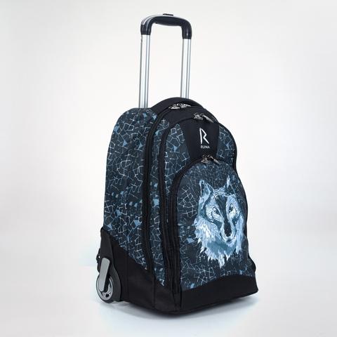 Сумка-рюкзак на колесиках «RUNA» Волк