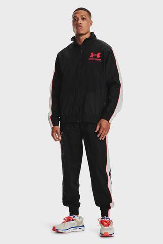 Мужские черные спортивные брюки UA WOVEN TRACK PANT Under Armour