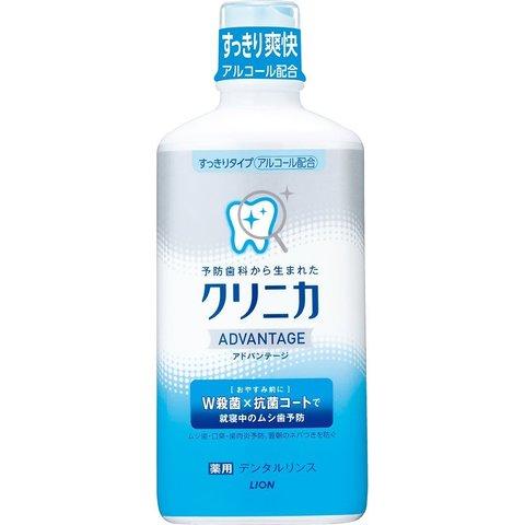 Ополаскиватель для рта, Lion, Clinica Advantage, антибактериальный, со спиртом, Цитрус, 450 мл