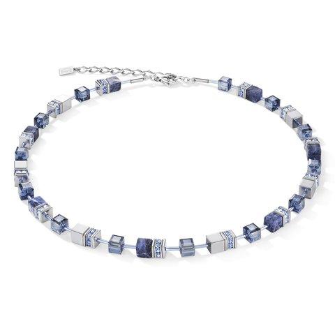 Колье Coeur de Lion Blue 4017/10-0700