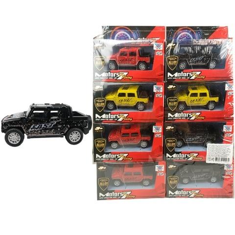 Набор машинок (в ассортименте) Motors 7 DIE CAST METAL Внедорожники № 1, 1кор*30бл*8шт