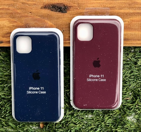 Чехол iPhone XS Silicone Case Full /plum/
