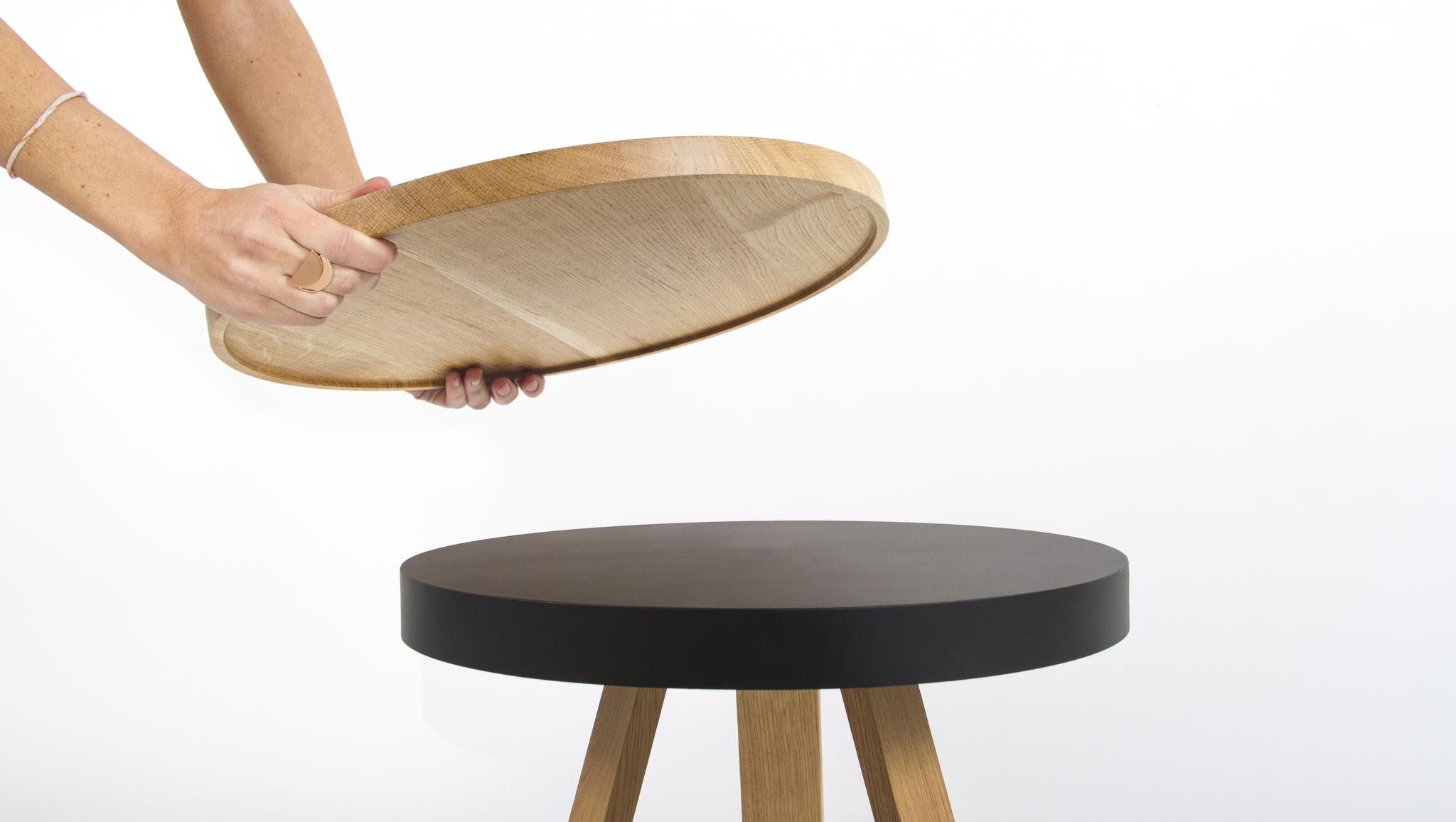 Кофейный столик BATEA S дуб - вид 6