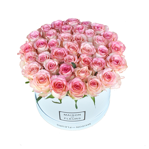 Коробка Maison Des Fleurs Розовая 3