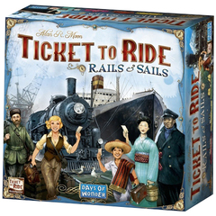 Ticket to Ride: Rails & Sails