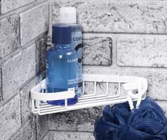 Полка в ванную WasserKRAFT K-733 WHITE металлическая