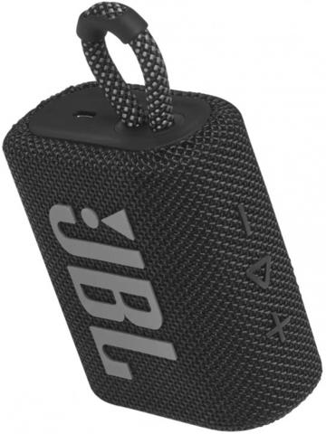 JBL Go 3 Black - колонка портативная черная