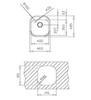 Мойка кухонная TEKA Stylo 1B - схема