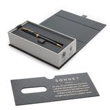 Шариковая ручка Parker Sonnet Core K528 Matte Black GT Mblack (1931519)