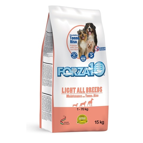 Forza10 LIGHT ALL BREEDS MAINTENANCE с тунцом и рисом