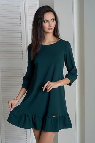Ірма. Красива сукня вільного крою. Смарагд