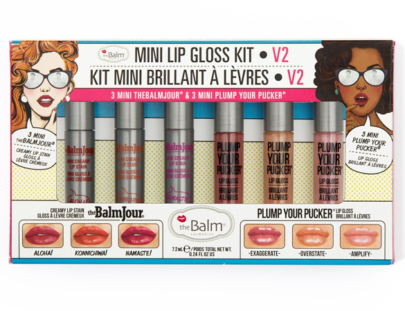 Набор блесков The Balm Mini Lip Gloss Kit Vol.2