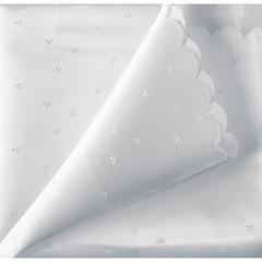 Скатерть 150x182 см белая