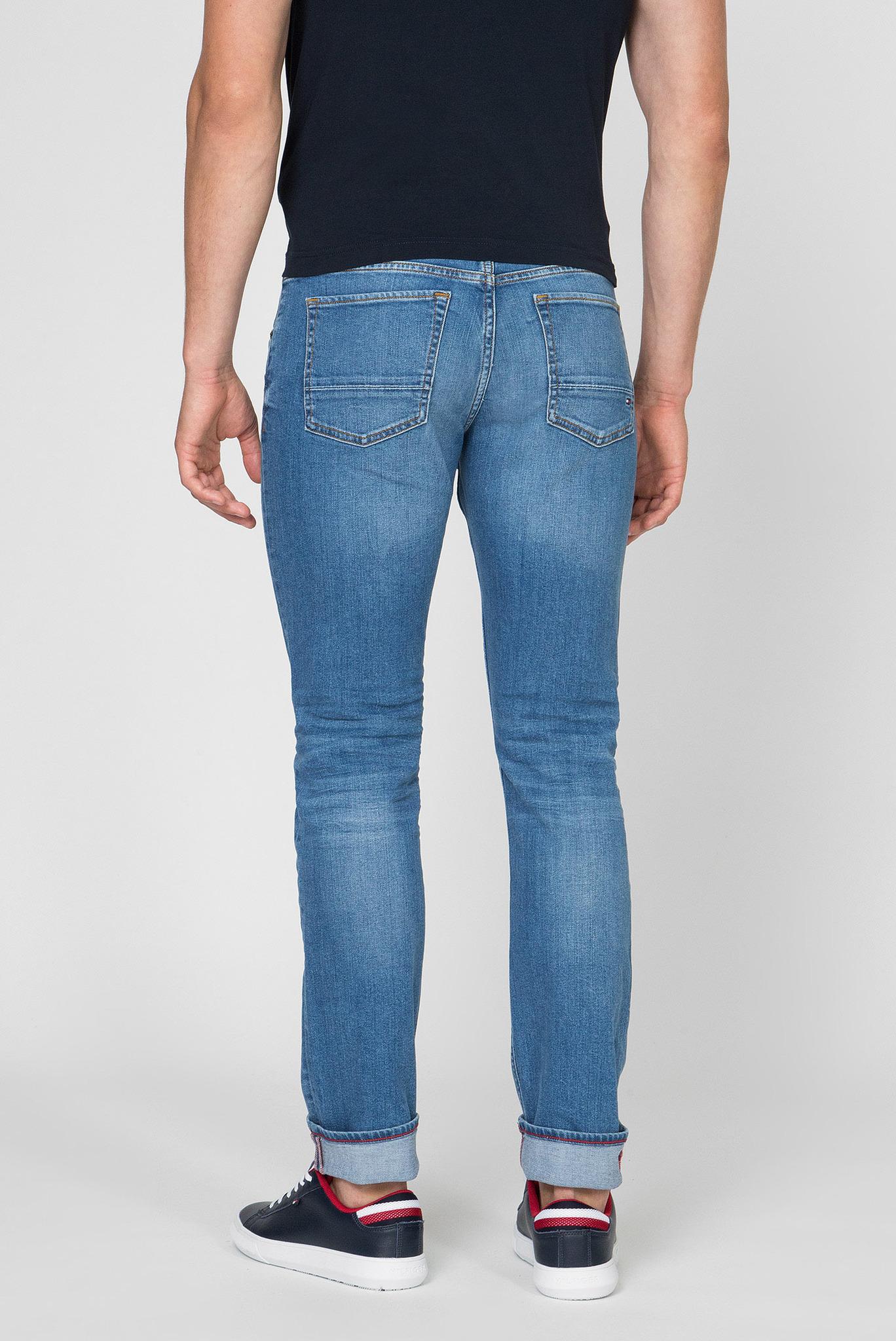 Мужские синие джинсы SLIM BLEECKER STR AIKEN BLUE Tommy Hilfiger