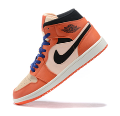 Air Jordan 1 Mid 'Orange/Pink/Black'