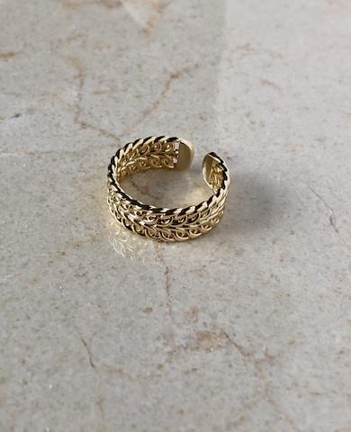Кольцо Олимпус, позолота