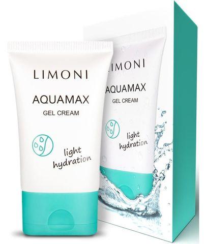 Гель-крем для лица увлажняющий Limoni Aquamax Gel Cream 50 мл