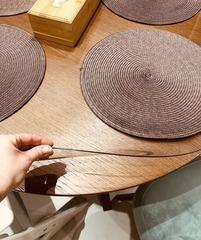 Накладка круглая на стол диаметр 100 см толщина 2 мм