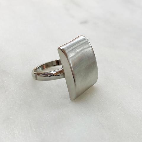 Кольцо Vi трапеция стальной