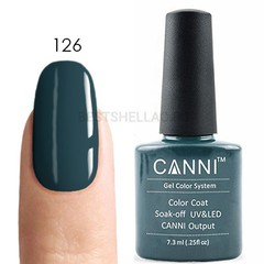 Canni, Гель-лак № 126, 7,3 мл
