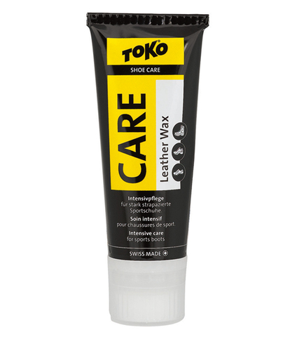 Картинка пропитка Toko Leather Wax Transparent - Silicone 75ml  - 2