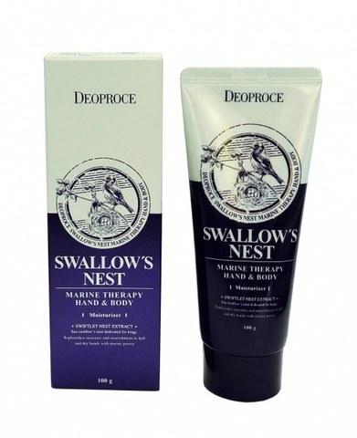 DEOPROCE Крем для тела и рук с экстрактом ласточкиного гнезда DEOPROCE HAND&BODY - SWALLOW'S NEST 100гр