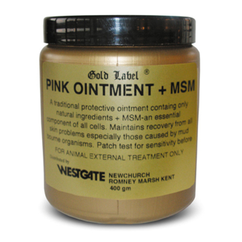 Gold Label Pink Salve Plus MSM, 200 гр